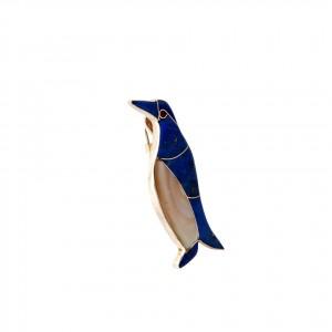 broche- pinguino - ag ll- 0524guzt